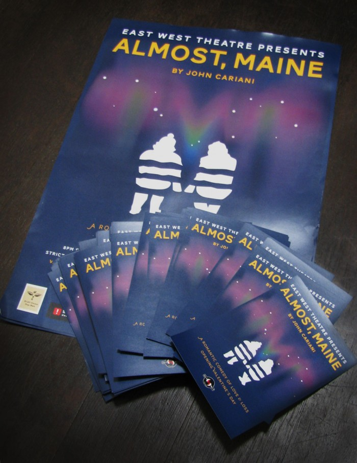 Almost, Maine Theater Event Poster